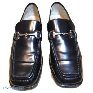 Gucci Horsebit Classic Black Leather Loafers